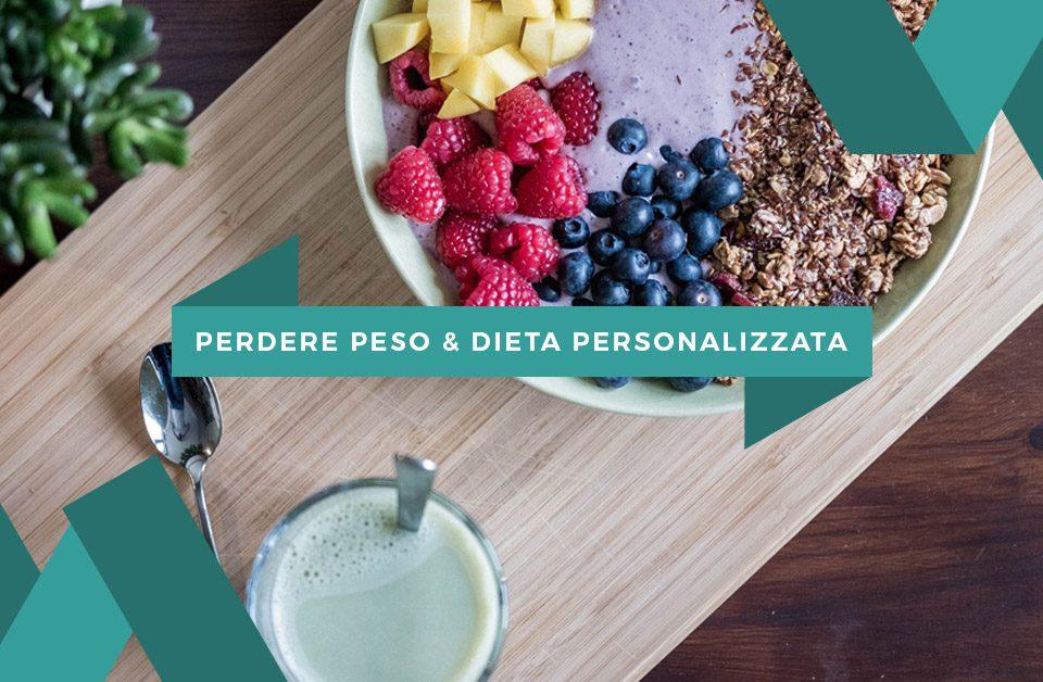 Perdere peso, Dieta personalizzata