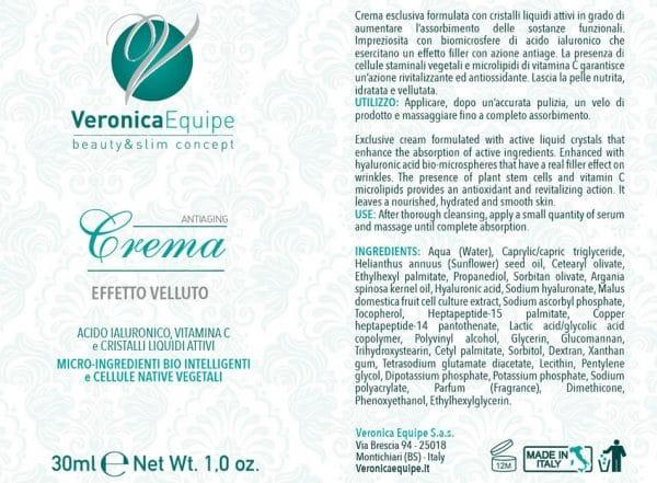 Veronica-Equipe-Prodotti-Etichetta-Antiaging-Filler-Crema