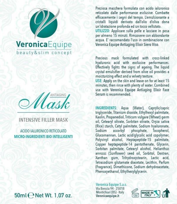 Veronica-Equipe-Prodotti-Etichetta-Antiaging-Filler-Mask