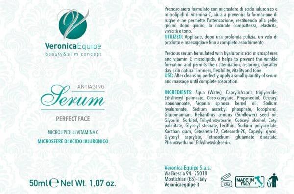 Veronica-Equipe-Prodotti-Etichetta-Antiaging-Filler-Serum-PerfectFace
